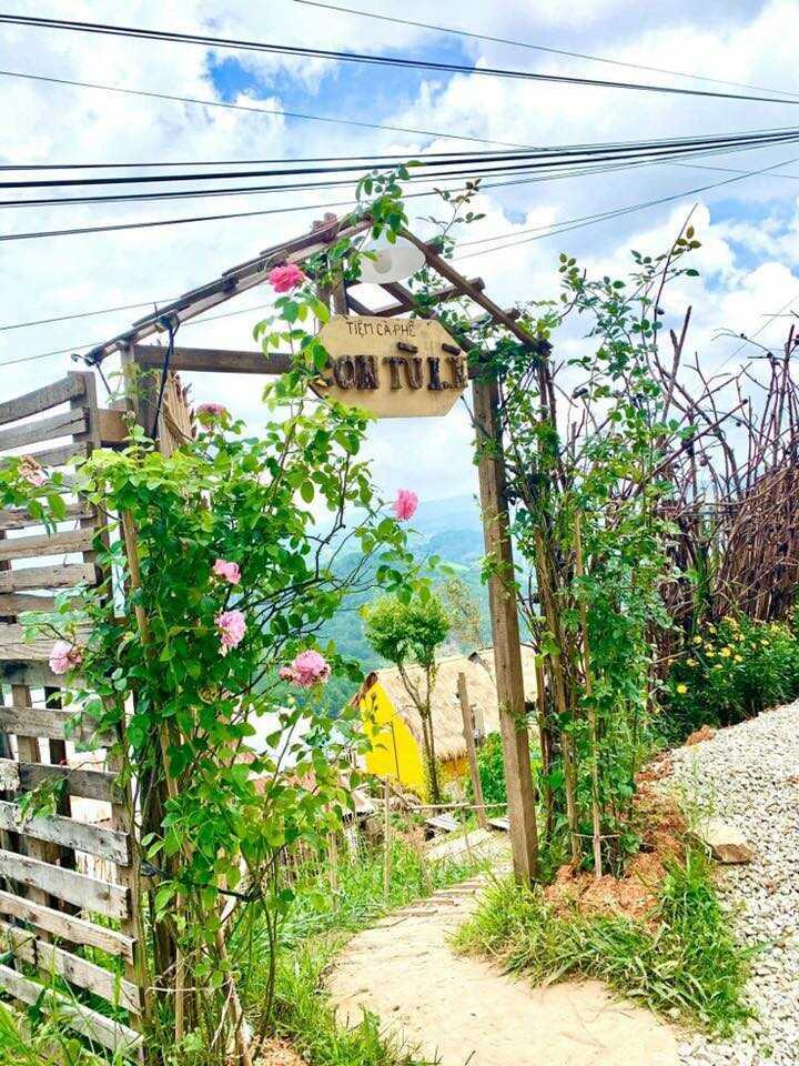 Dấu tương tư trong chốn an yên ở Tiệm cà phê & homestay Con Tù Lì