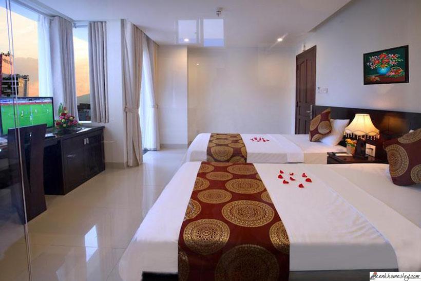 Top 22 Nhà nghỉ Nha Trang giá rẻ gần biển ga xe lửa và trung tâm