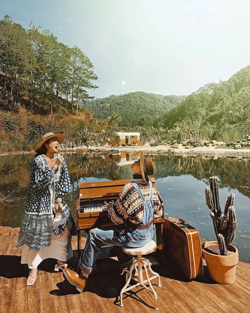 Kombi Land: thiên đường cà phê đậm chất miền Tây nước Mỹ ở Đà Lạt hút hồn du khách