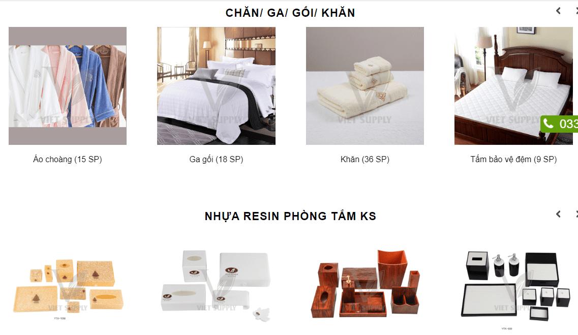 Top 30 địa chỉ bán đồ dùng khách sạn giá rẻ tốt nhất ở TPHCM – Hà Nội