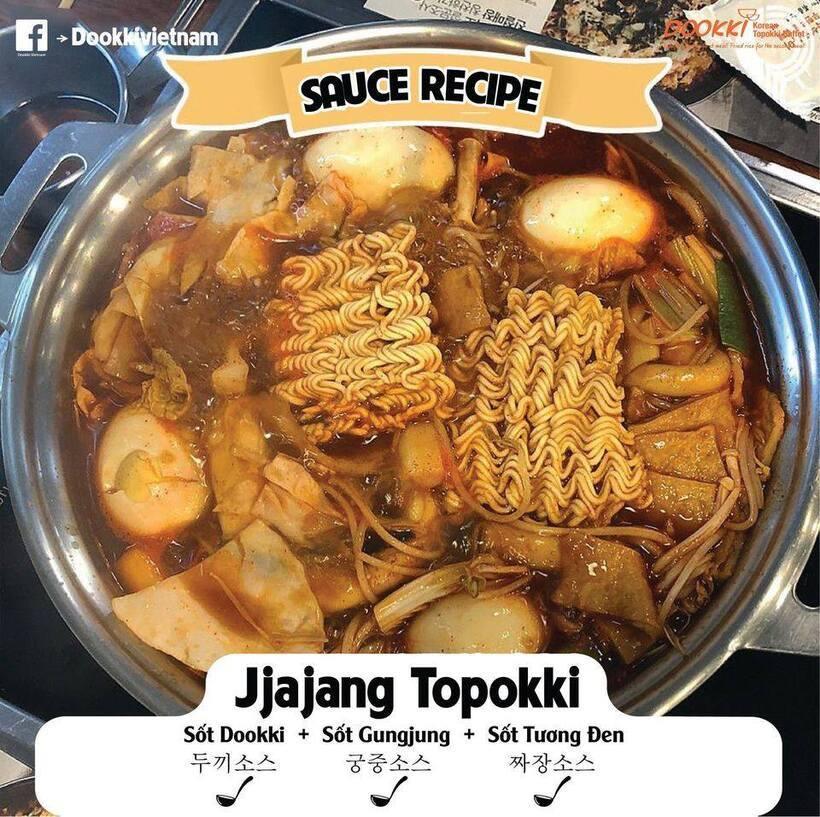 Dookki Việt Nam: Menu giá và review chi nhánh nhà hàng buffet tokbokki
