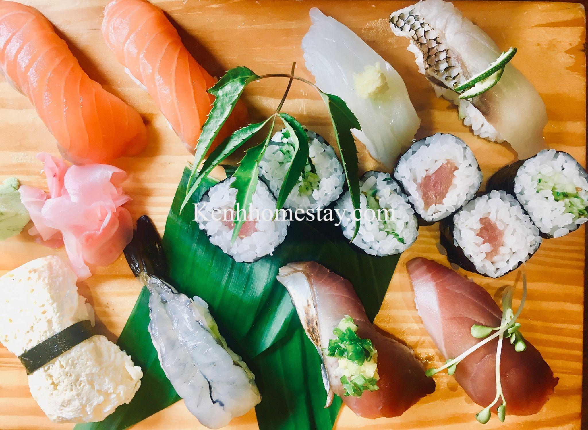 Top 10 Quán sushi Đà Nẵng giá rẻ chất lượng ngon nổi tiếng nhất