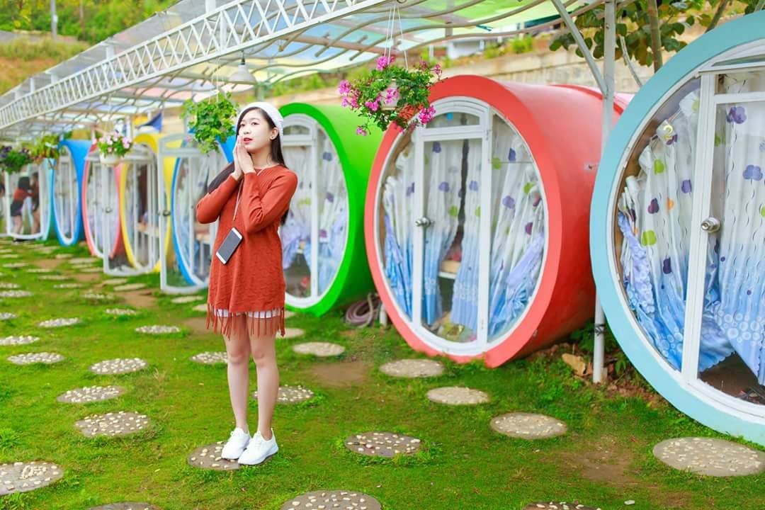 DaLat Otel - Khách Sạn Ống Cống giá rẻ siêu dễ thương ở Đà Lạt