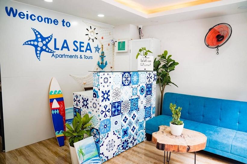 """Ngẩn ngơ khách sạn căn hộ style """"đại dương thu nhỏ"""" sát biển Nha Trang"""