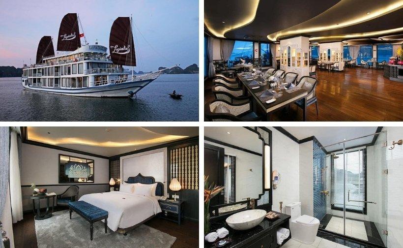 Top 43 Du thuyền Hạ Long sang trọng chuẩn 5 sao ngắm vịnh biển đẹp